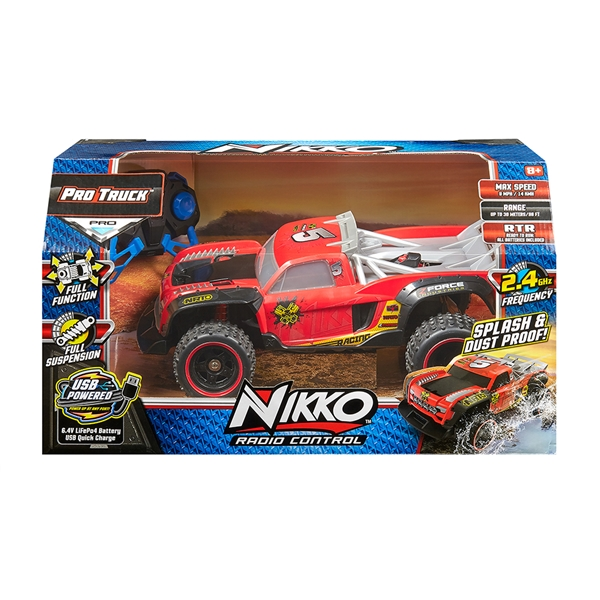 NIKKO RC PRO TRUCKS - NIKKO RACING #5 (10060) #34-10061
