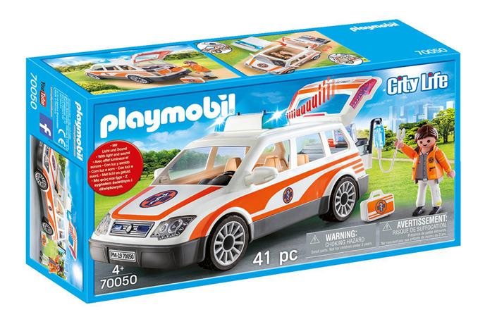 PLAYMOBIL ΟΧΗΜΑ ΠΡΩΤΩΝ ΒΟΗΘΕΙΩΝ #70050